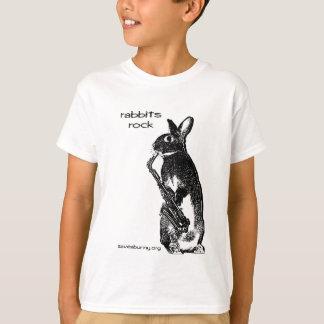 T-shirt Roche de lapins !
