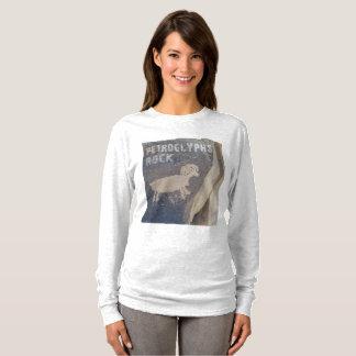 T-shirt Roche de pétroglyphes pour des géologues et des