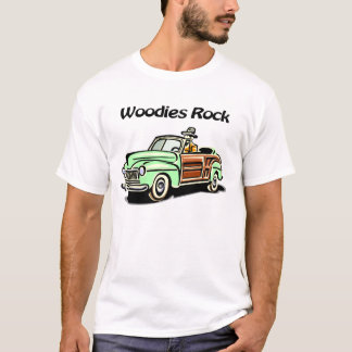 T-shirt Roche de Woodies