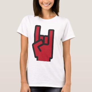 T-shirt Roche de Yo - pièce en t impressionnante d'Emoji
