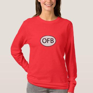T-shirt Roche d'OFB la longue pièce en t de la douille des