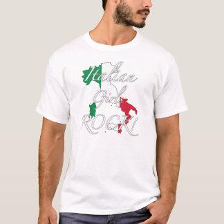 T-shirt Roche italienne de filles !