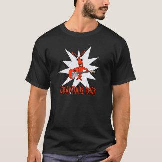 T-shirt Roche mignonne de Crawdads d'écrevisses