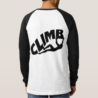 T-shirt Roche montant le grimpeur de Bouldering