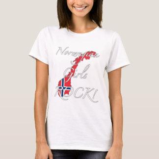 T-shirt Roche norvégienne de filles !