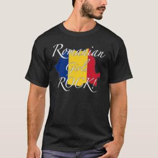 T-shirt Roche roumaine de filles !