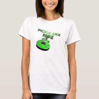 T-shirt Roches de jus de conserves au vinaigre