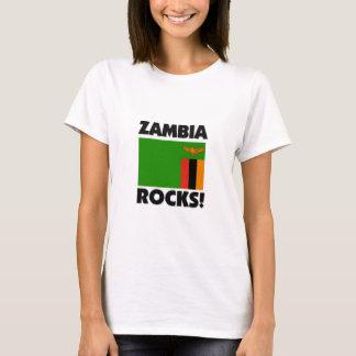 T-shirt Roches de la Zambie