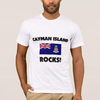 T-shirt Roches de l'Île Caïman