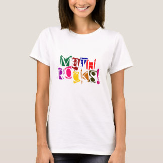 T-shirt Roches de maths