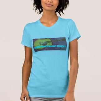 T-shirt Roches de musique d'Asheville
