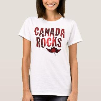 T-shirt Roches du Canada