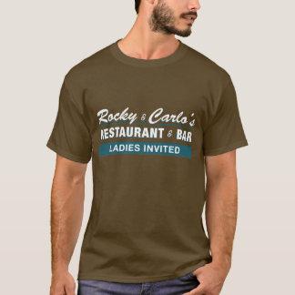 T-shirt rocheux et de Carlo