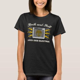 T-shirt Rock : Bruyant et électrique. Affligé