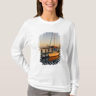 T-shirt Rockport, port du Texas au coucher du soleil