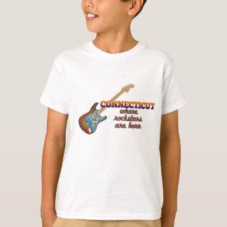 T-shirt Rockstars sont né dans le Connecticut
