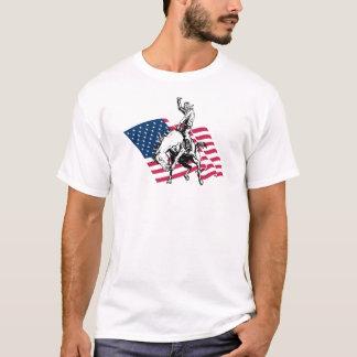 T-shirt Rodéo Etats-Unis - L'Amérique, le cheval de cowboy
