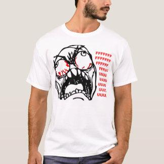 T-shirt rofl superbe de meme de visage de rage