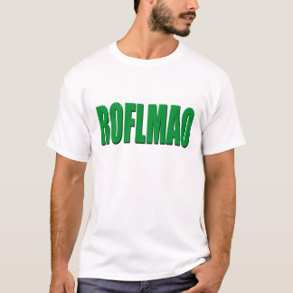 T-shirt ROFLMAO-vert