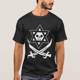 T-shirt Roger cacher noir et blanc