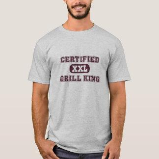 T-shirt Roi certifié de gril