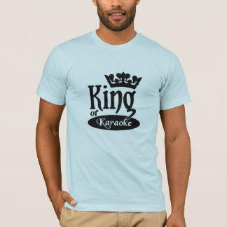 T-shirt Roi de chemise de karaoke - choisissez le style et