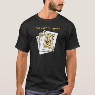 T-shirt Roi de chimio - ruban d'or de Cancer d'enfance