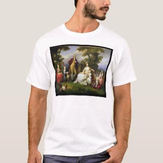 T-shirt Roi de Ferdinand IV de Naples, et sa famille