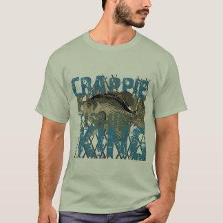 T-shirt Roi de Fishin de crapet