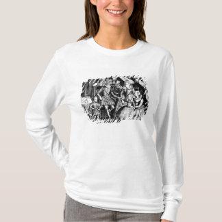 T-shirt Roi de Henri IV de la France avec sa famille