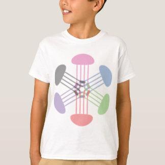 T-shirt Roi de méduses d'arc-en-ciel