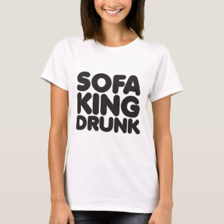 T-shirt roi de sofa bu