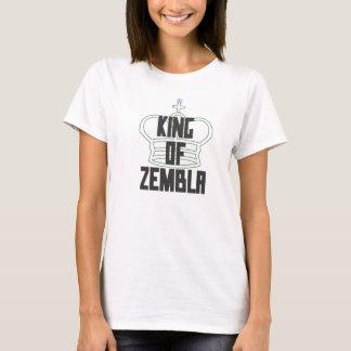T-shirt Roi de Zembla (vert transparent de lettre noire)