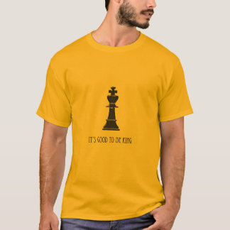 T-shirt roi d'échecs