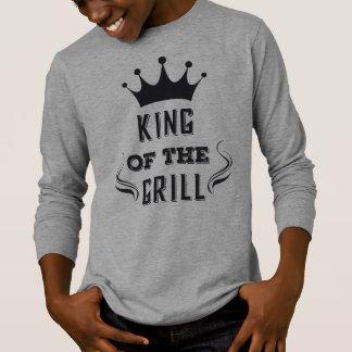 T-shirt Roi drôle de la chemise de douille de gril