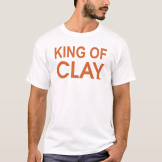 T-shirt ROI OF CLAY de tennis du CÆ