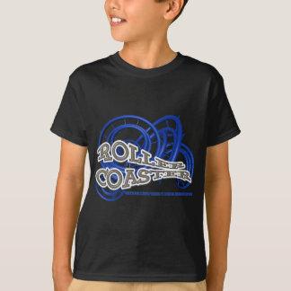 T-shirt Roller Coaster Bleu and Grey RJC01WS.png