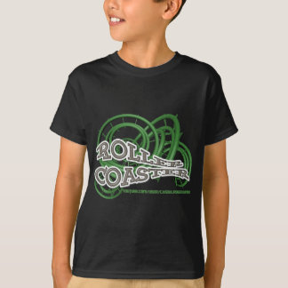 T-shirt Roller Coaster Green and Grey RJC01WS.png