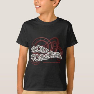 T-shirt Roller Coaster Red & Grey RJC01WS.png
