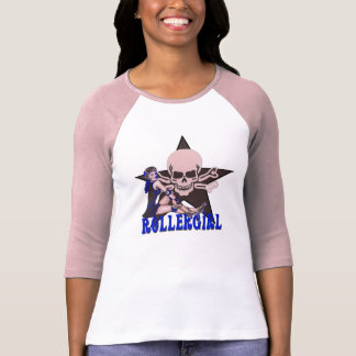 T-shirt rollergirl