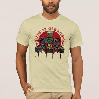 T-shirt Rollin il vieille école