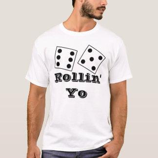 T-shirt Rollin Yo