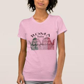 T-shirt Roma a embouti