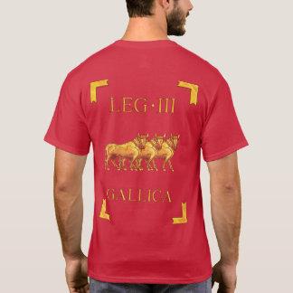 T-shirt romain de 3 Legio III Gallica Vexillum