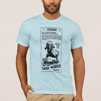 T-shirt Roman 1925 perdu d'Arthur Conan Doyle du monde