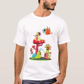 T-shirt romance de créature