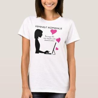T-shirt Romance féministe : elle peut déchirer son propre