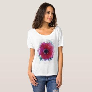 T-shirt romantique de l'ami Slouchy des femmes de