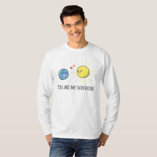 T-shirt Romantique drôle vous êtes ma chemise de douille