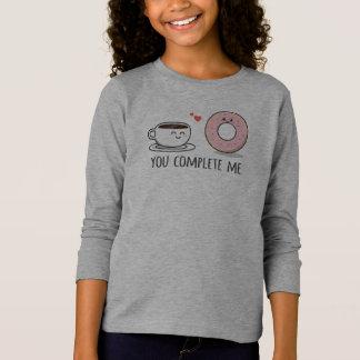 T-shirt Romantique drôle vous m'accomplissez chemise de